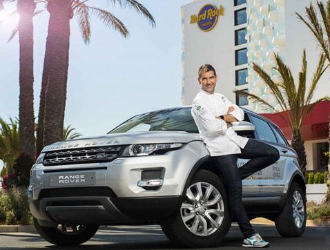 Land Rover vuelve a Ibiza con 'sublimotion', el espectáculo gastronómico y futurista de Paco Roncero