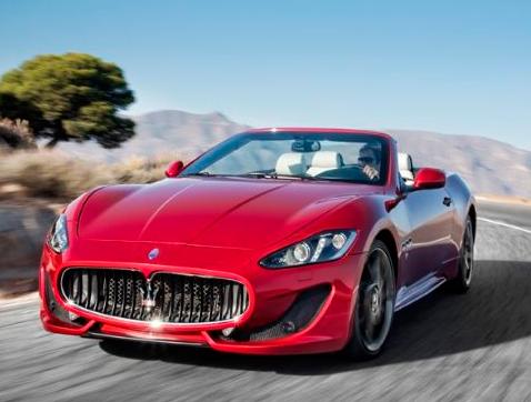 Maserati GranCabrio Sport: Emoción al aire libre