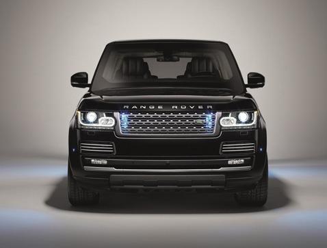 "Nuevo Range Rover blindado ""Sentinel"""