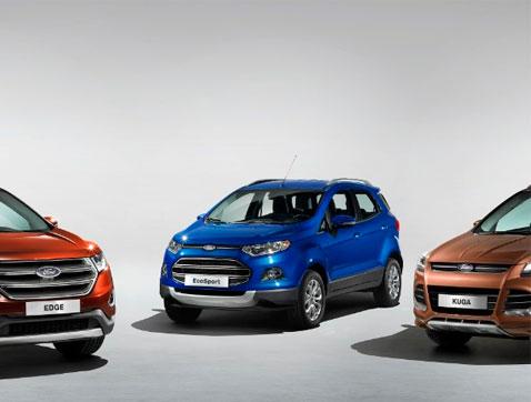 Ford: El boom de los SUVS se acelerará con la generación millennial