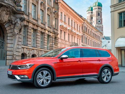 Volkswagen presenta el nuevo Passat Alltrack