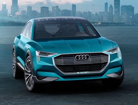 Audi e-tron quattro concept: Placer de conducción eléctrica sin compromisos
