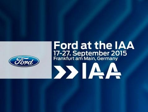 Ford presenta el nuevo Edge y el nuevo Ranger en el Salón del Automóvil de Frankfurt