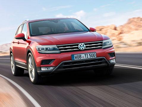 Estreno mundial del nuevo Volkswagen Tiguan en el Salón del Automóvil de Frankfurt