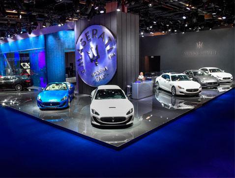 Maserati presenta los nuevos motores EURO 6 en el Salón del Automóvil de Frankfurt
