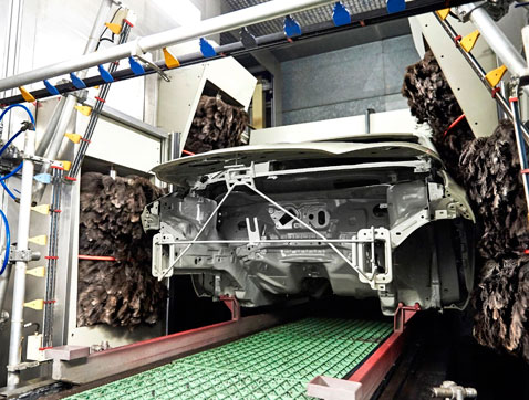 Detrás de las cámaras: así se fabrica un Ford