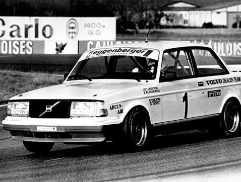 Hace 30 años el Volvo 240 Turbo reinaba en los circuitos europeos