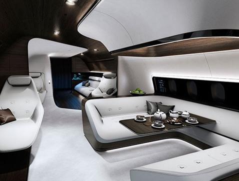 Mercedes-Benz se lanza al diseño de aviones de lujo