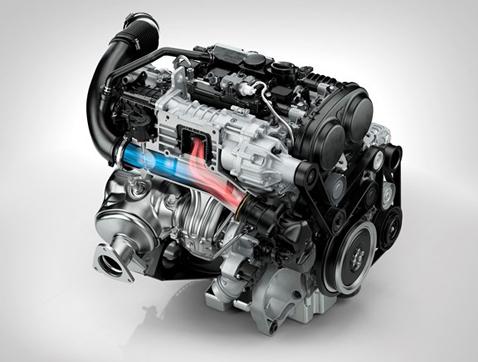 T6 Drive de Volvo: nuevo punto de referencia para el alto rendimiento de motores de cuatro cilindros