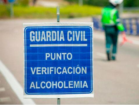 Tráfico realizará más de 25.000 pruebas diarias de alcohol y drogas estas navidades