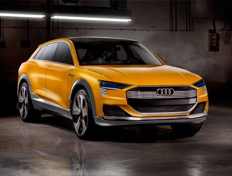 Cero emisiones: el Audi h-tron quattro concept