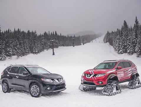 El Nissan X-Trail  no teme a las más duras condiciones del invierno