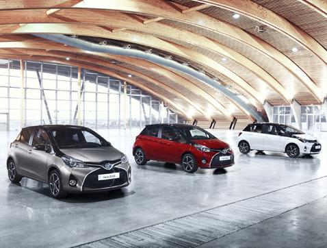 Toyota presenta su nueva gama Yaris 2016