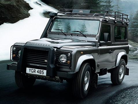Land Rover Defender : robustez, resistencia, fuerza y capacidad