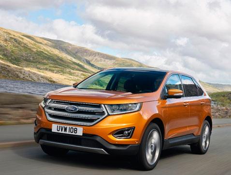 El nuevo Ford Edge llega a Europa para completar la gama SUV y AWD de Ford