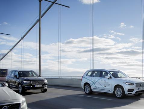 Volvo pondrá en marcha su experimento de conducción autónoma más avanzado