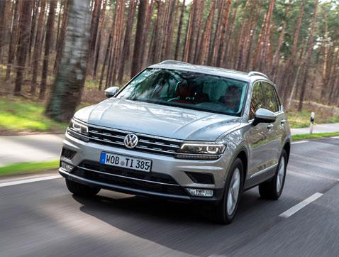 El nuevo Volkswagen Tiguan llegará al mercado español en mayo