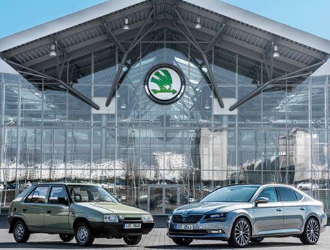 ŠKODA y Volkswagen: 25 años de una historia de éxito