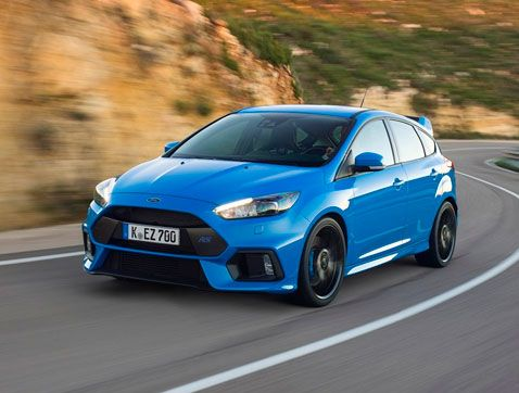 El Ford Focus RS, elegido coche del año en los prestigiosos Vehicle Dynamics International Awards