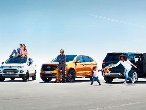 Estudio Ford: las madres modernas, los millennials y los cincuentásticos encabezan el boom europeo del segmento SUV