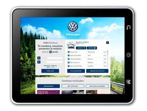 Volkswagen presenta #VWHITTHEROAD: una aplicación para crear la playlist perfecta para conducir