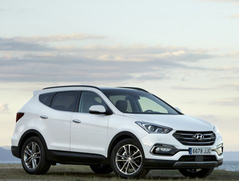 Hyundai Santa Fe obtiene la calificaciónTOP SAFETY PICK + 2016