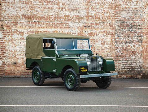 Debut mundial del Land Rover Serie I 'Reborn' en Techno-Classica 2016