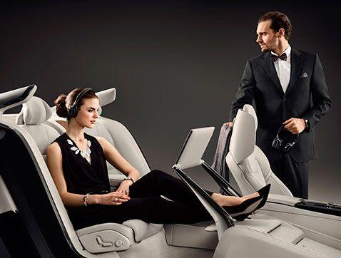 Volvo S90 Excellence Interior Concept: una obra de arte