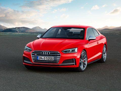 Elegancia deportiva: Nuevos Audi A5 y S5 Coupé