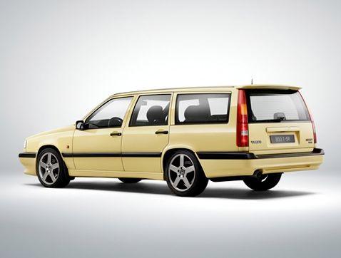 El Volvo 850 celebra su 25 aniversario