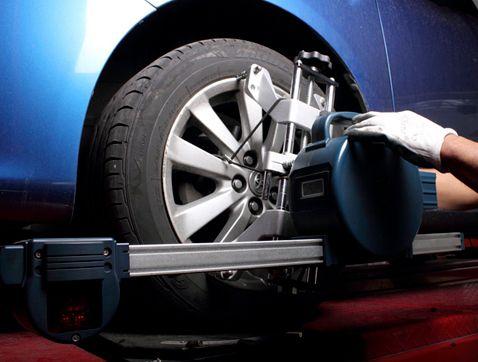 La importancia de llevar las ruedas bien alineadas