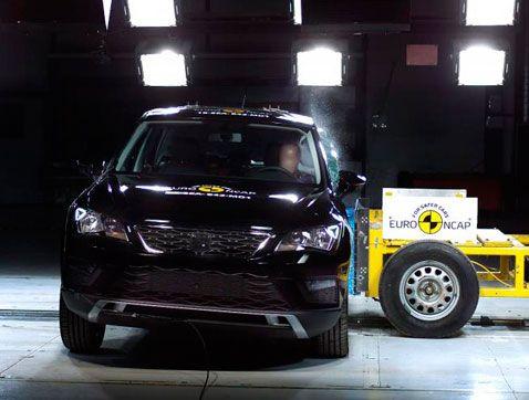 Cinc estrelles Euro NCAP per al SEAT Ateca