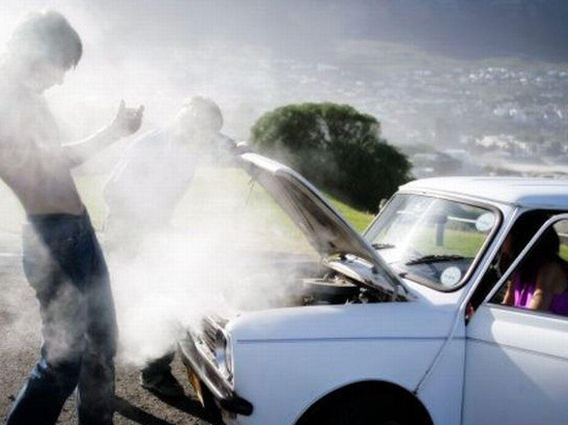 ¿Qué hacer en caso de sufrir un calentamiento del motor?