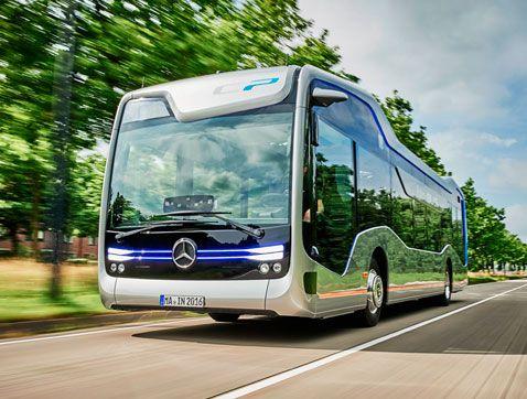 Mercedes Benz presenta su Future Bus