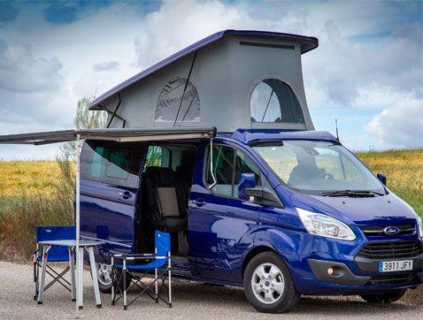 Ford Custom by Tinkervan: viaja este verano con la casa a cuestas
