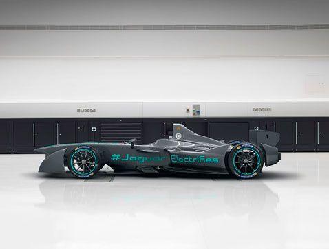 El Jaguar I-TYPE se pone a punto para la Fórmula E