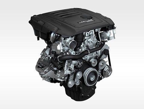 Jaguar F-PACE: Potencia y eficiencia de consumo