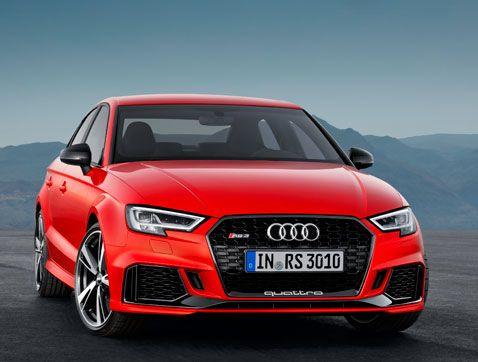 Audi RS 3 Sedan: Pole position en deportividad en el segmento de los compactos