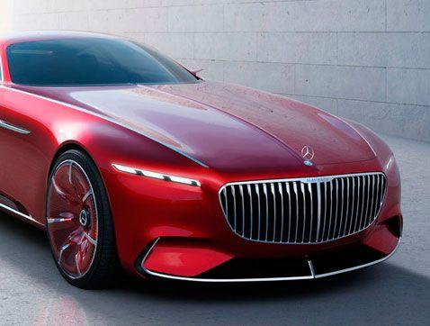 Vision Mercedes Maybach 6: el lujo definitivo
