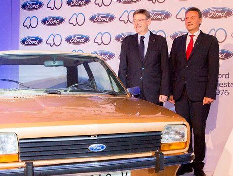 Ford celebra su 40 aniversario en España consolidado como referente del sector de la automoción en Europa