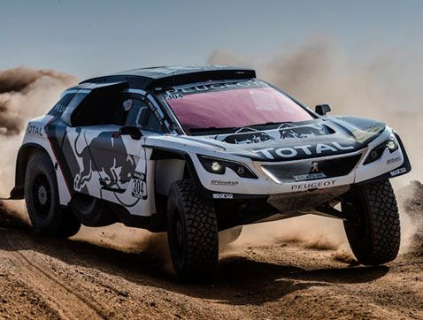 Peugeot 3008 DKR: destino Dakar