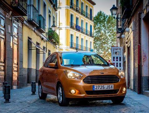 El nuevo Ford Ka + ofrece amplio espacio, bajo consumo y excelente conducción