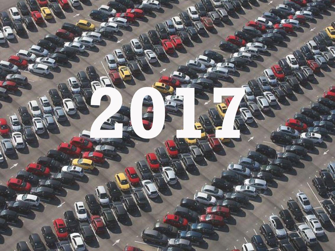 ¿Cuáles son las previsiones de venta de coches para 2017?