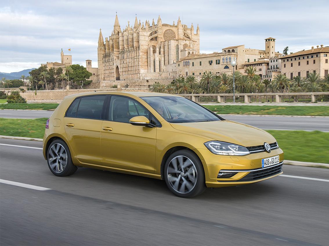 Volkswagen presenta el nuevo Golf, primer compacto con sistema de control gestual