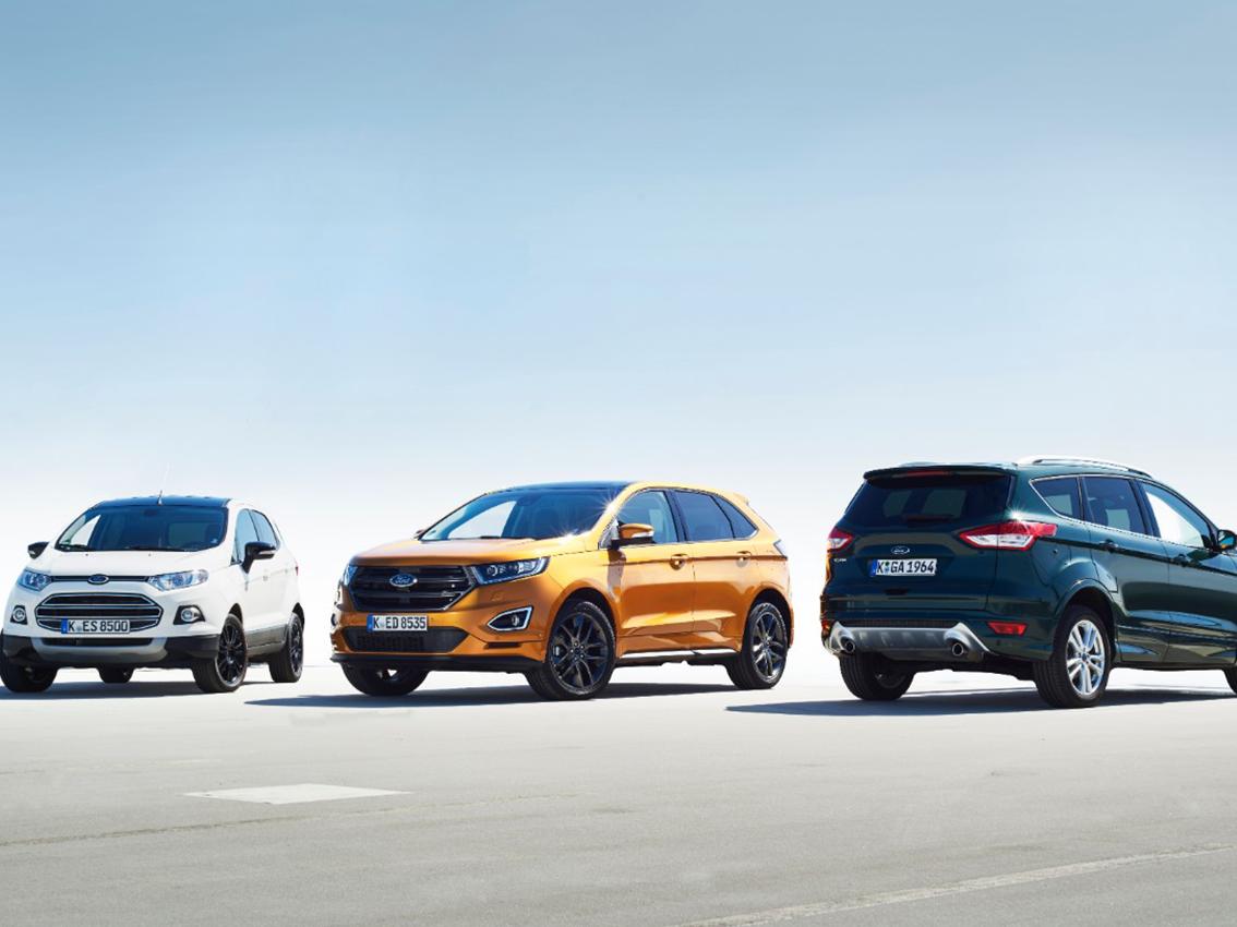 Ford dispondrá de un SUV electrónico con autonomía de 500 kilómetros antes del 2020