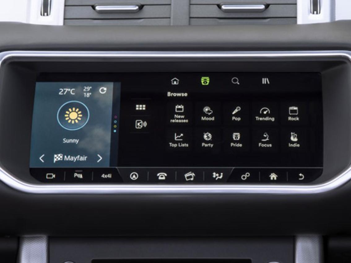 Ya puedes utilizar Spotify en los vehículos Land Rover equipados con InControl Apps
