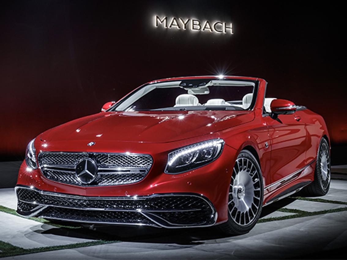 El Mercedes-Maybach S 650 Cabrio encarna claridad sensual