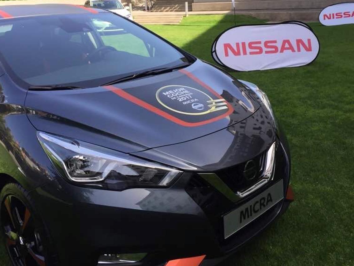 El nuevo Nissan Micra recibe el premio al Mejor Coche de año 2017 en Canarias