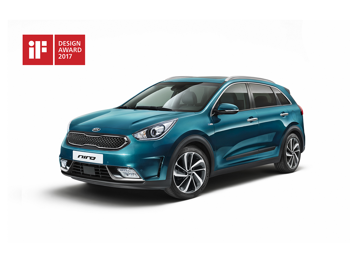 Triple triunfo de Kia en los IF Design Awards de 2017