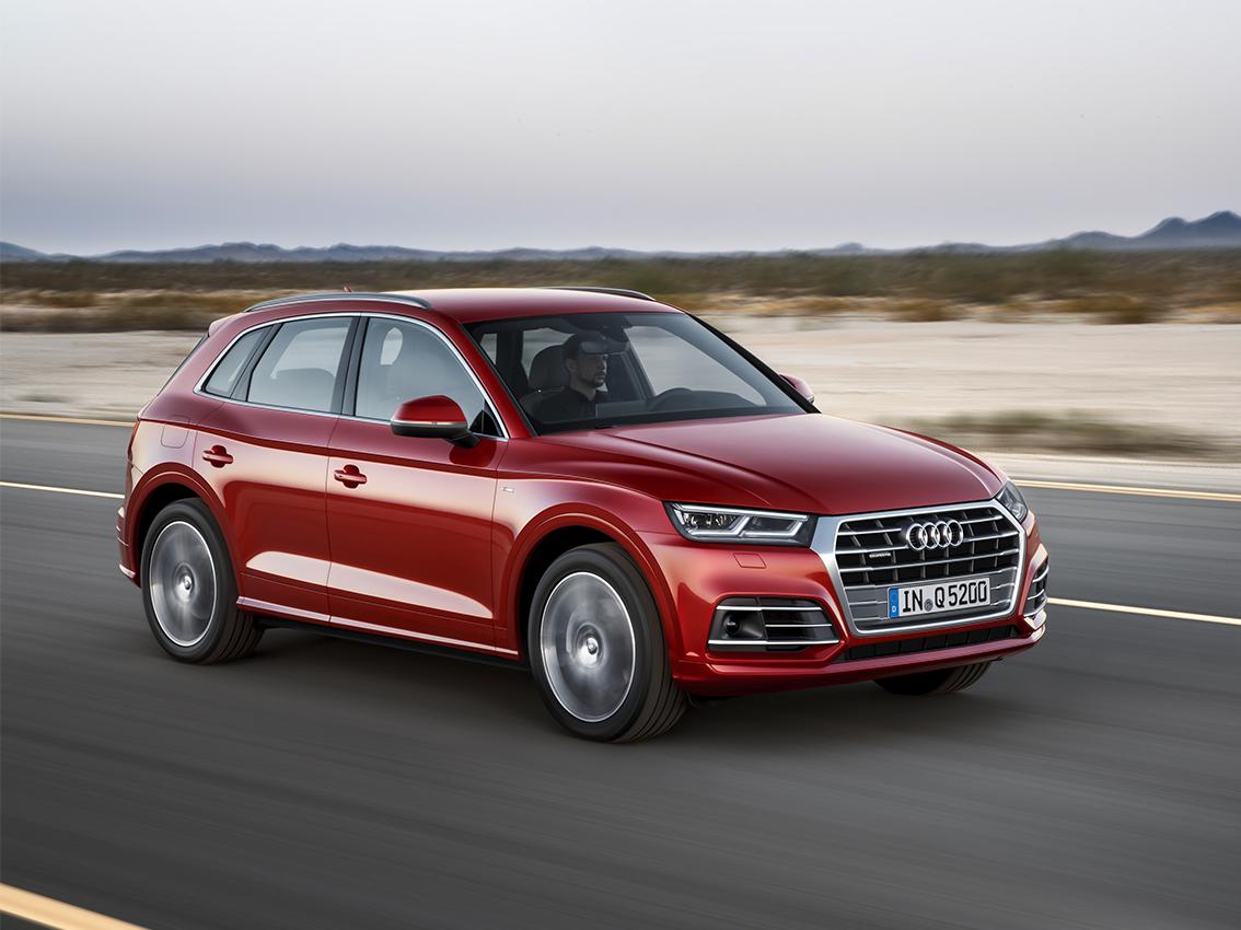 El nuevo Audi Q5 impresiona en las pruebas de Euro NCAP
